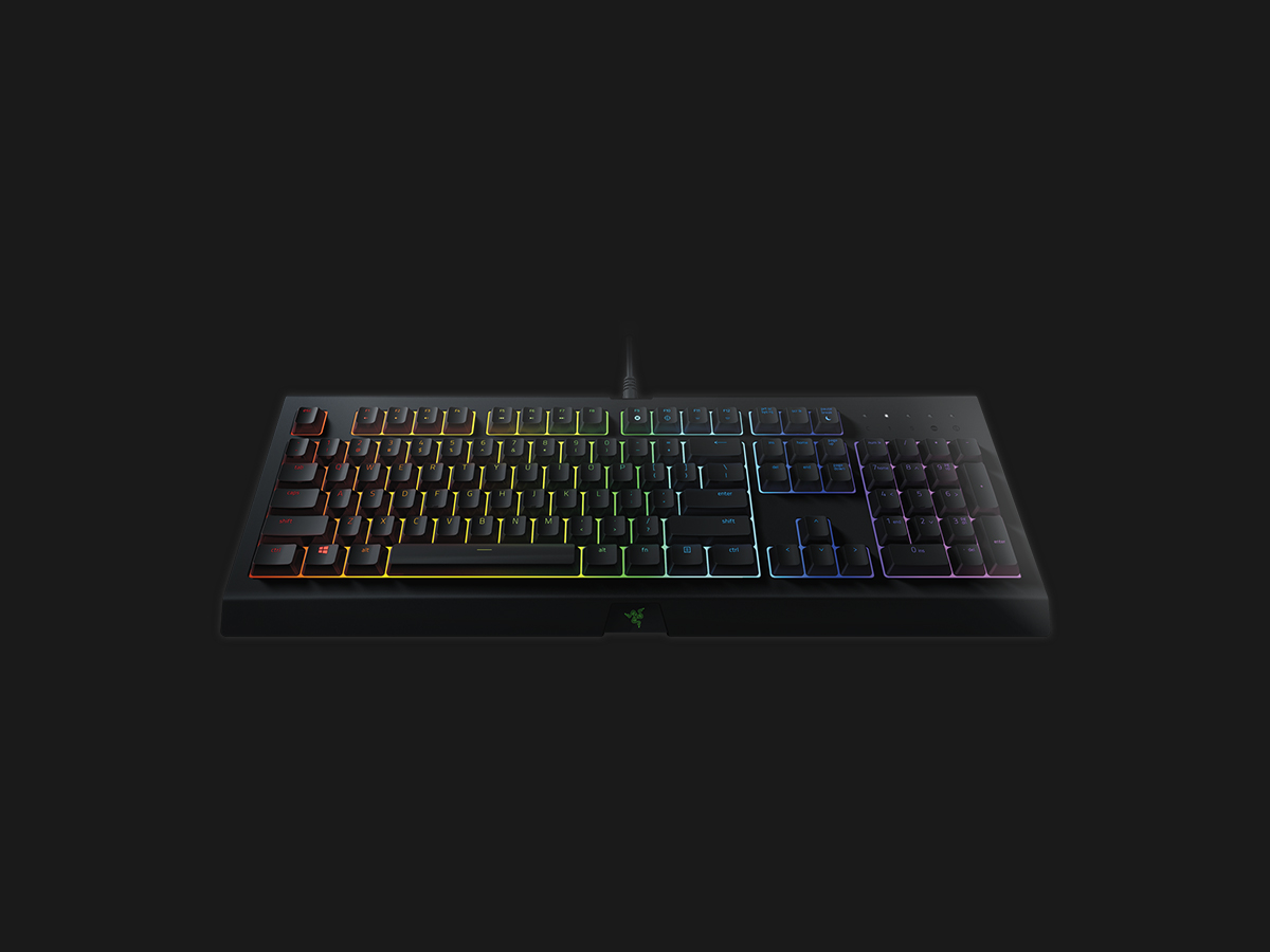 Razer Cynosa Chroma Tastatur 16,8 millioner farver Kabling