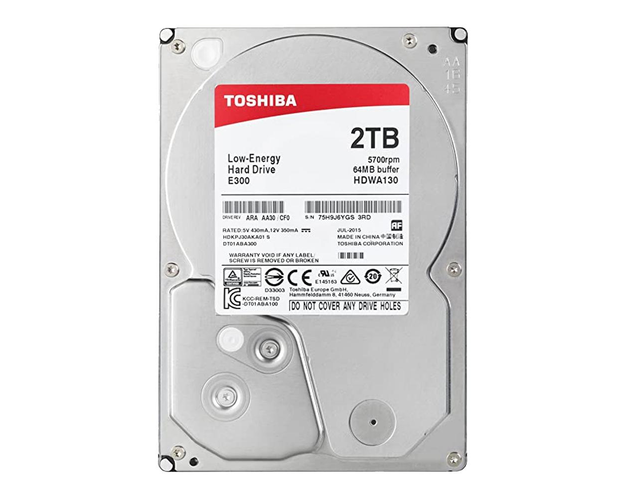 Toshiba E300 2TB 3.5″