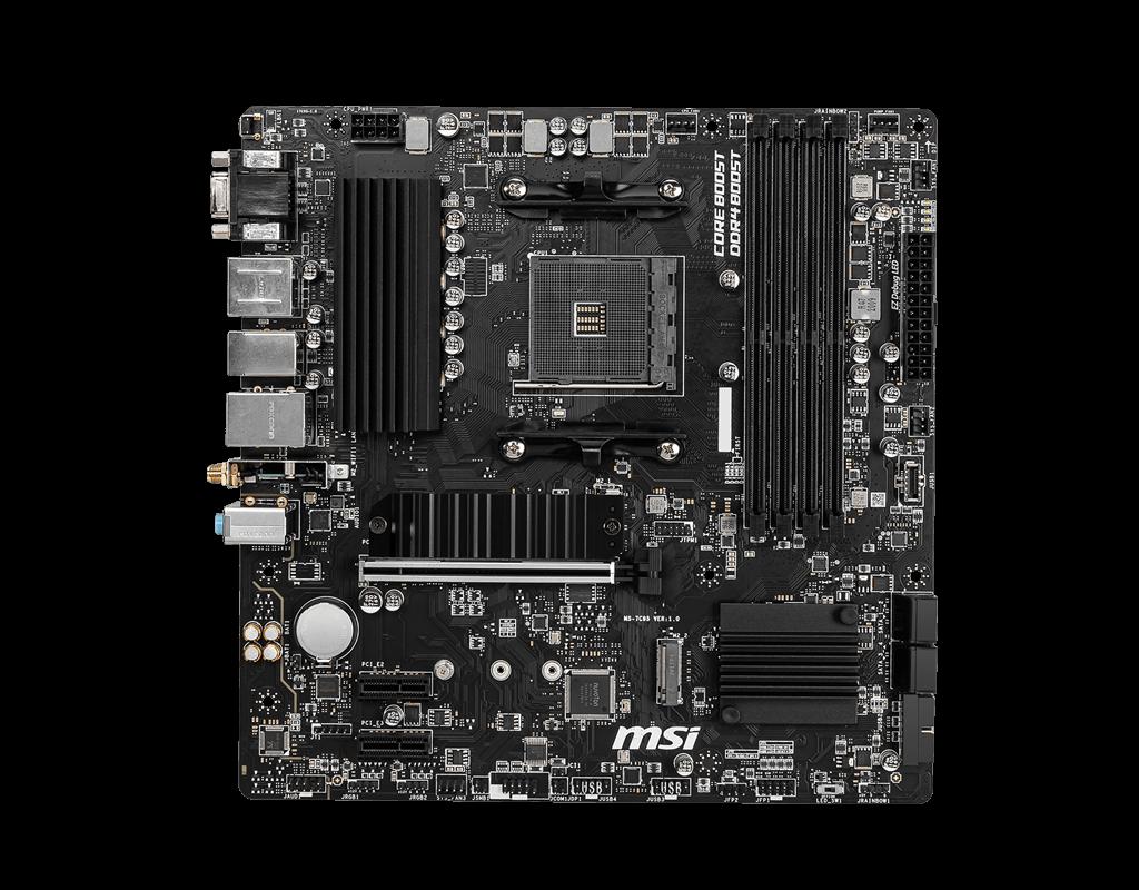 MSI B550M PRO-VDH WIFI Micro